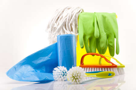 House cleaning product Stock Photo - 17486604