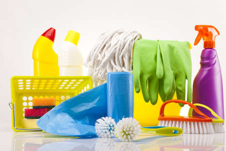 House cleaning product Stock Photo - 17486927