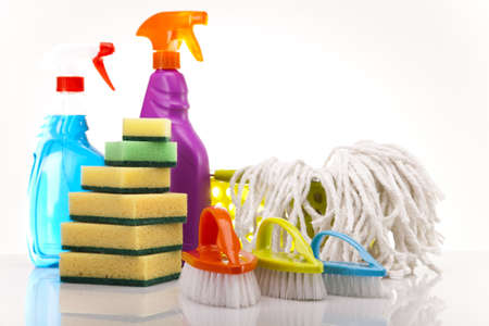 House cleaning product Stock Photo - 17486649