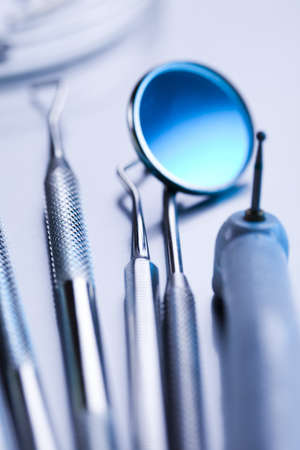 Close-up Dental Instruments photo