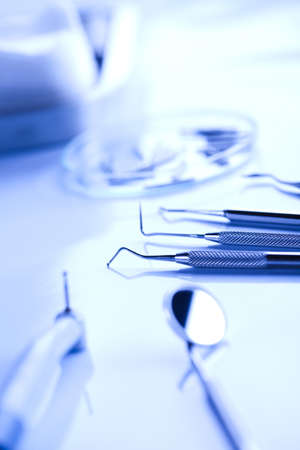 gripper: Dental tools Stock Photo