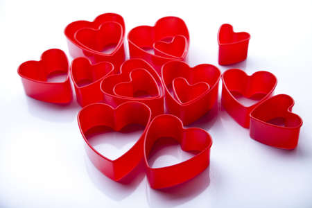 Red valentine heart  photo