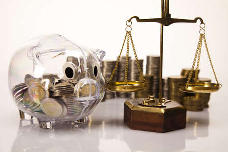 Piggy bank as concept photo