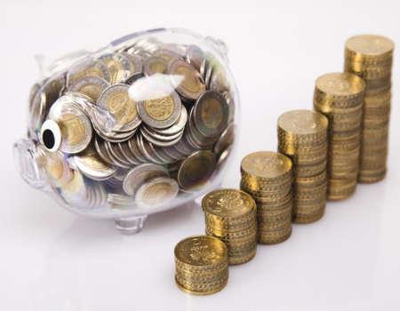 Piggy bank as concept Standard-Bild
