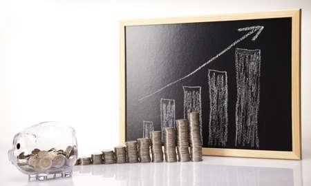gold bar earn:  Piggy Bank on a coins diagram