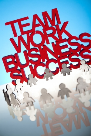 Business network concept Stock Photo - 18746430