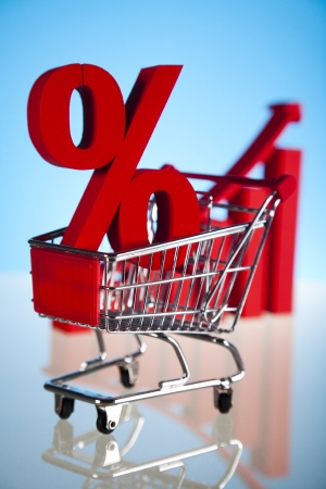 Shopping trolley Percent photo