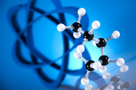 Molecular Model, atom  Stock Photo - 19410470