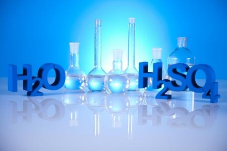 Laboratory glassware Stock Photo - 19410483