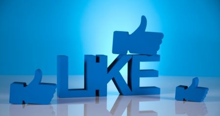 Thumbs up symbol, Social media photo