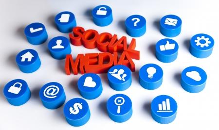 Communication,Internet concept, Social media Stock Photo - 19410321