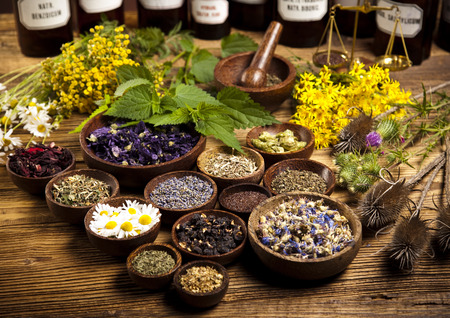 Herbal medicine Foto de archivo