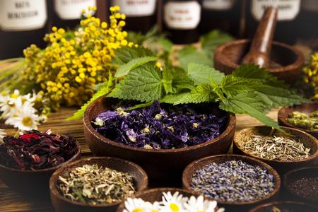 Herbal medicine Stockfoto