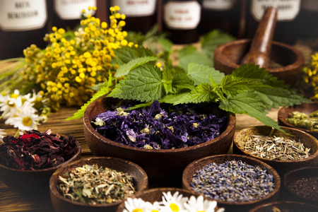 Herbal medicine Banque d'images