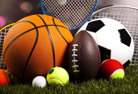 Quipements sportifs et de l'herbe Banque d'images - 31738936