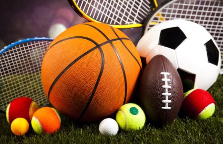 スポーツ用品 写真素材