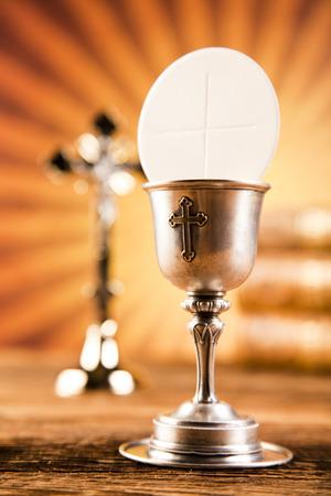 Symbol chrześcijaństwo religią Zdjęcie Seryjne