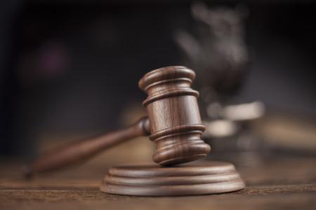 Recht en rechtvaardigheid concept, juridische code