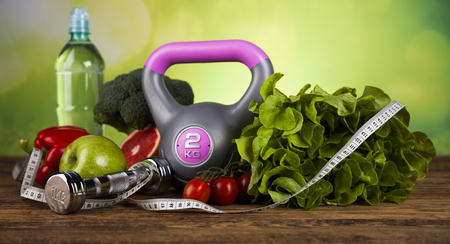 Healthy lifestyle concept, Diet and fitness Banque d'images