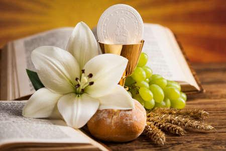 성만찬 빵, 기독교 종교 와인