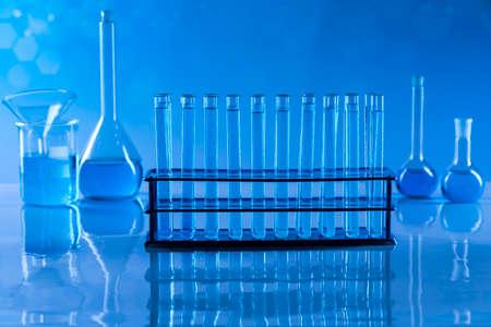 Glassware, Laboratory beakers, Science experiment