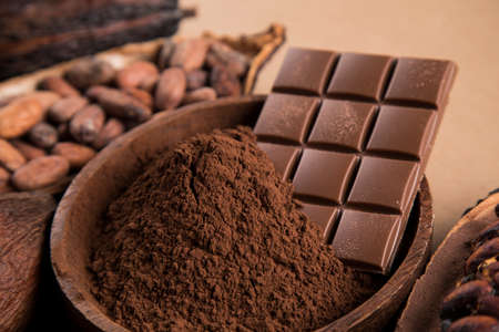 Chocolate Collection, Cocoa pod, candy sweet, dessert