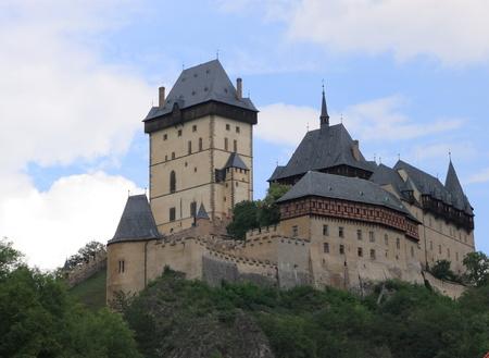 Karlstejn Castle in Czech Republic