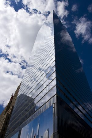 Tall office building, New York City photo