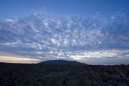sunrise in Joshua Tree National Park, in the Mojave Desert of Southern California Stock Photo - 3758405