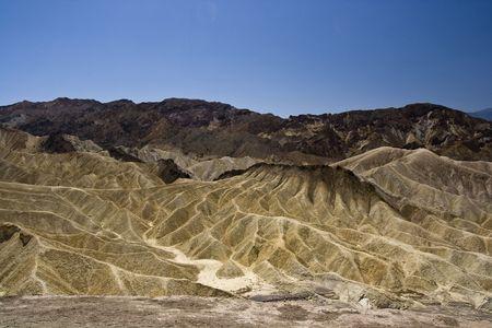 Zabriskie point in Death Valley National Park , California photo
