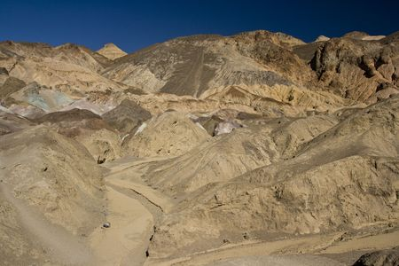 Artists palette in Death Valley National Park , California Stock Photo - 3758476