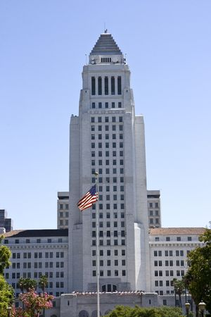 Los Angeles town hall, California Stock Photo