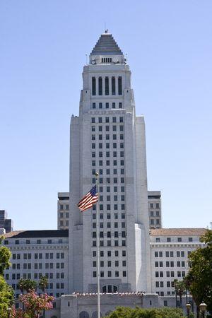 Los Angeles town hall, California Stock Photo