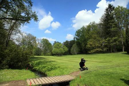 golf ball on a beautiful golf course Stock Photo - 7014443