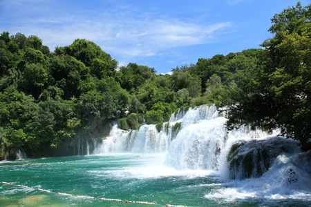national parks: National Park Krka, river Krka, Croatia