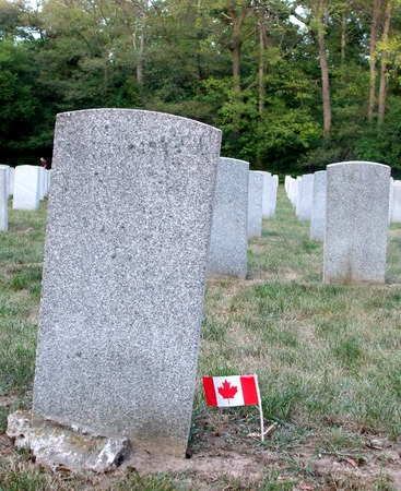 canadian military: Grave of Canadian War Veteran