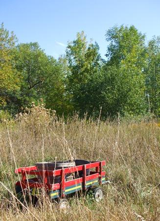 forgotten: Forgotten Little Red Wagon