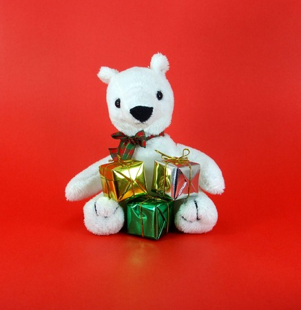 Christmas Bear Gets Gifts photo