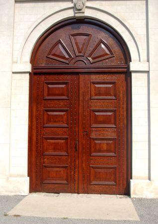 Antique Arched Door