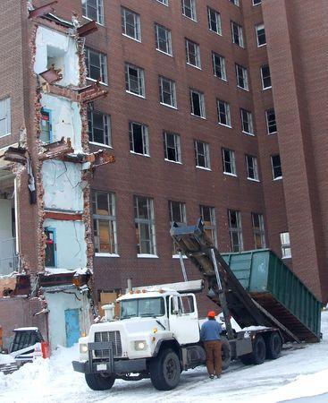 site: Winter Demolition Site