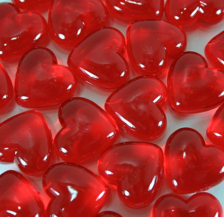 Shiny Valentine Heart Candy