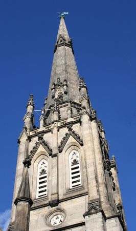 clocher: Church Steeple Banque d'images