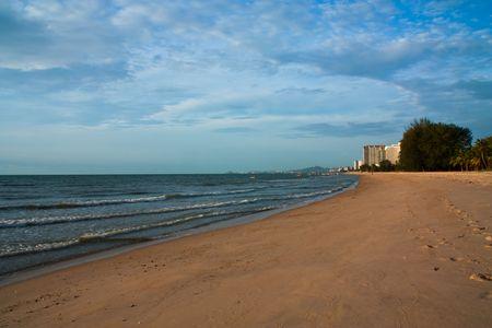 long weekend: Beach atHuahin