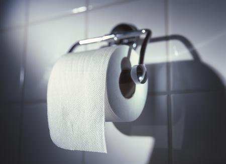 Toilet paper close up