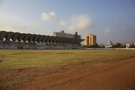 Sunset havana at jose Marti stadium in Havana. Cuba Editorial