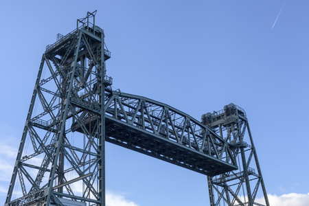 Monumental Koningshaven Railway Bridge, de Hef in Rotterdam - Image