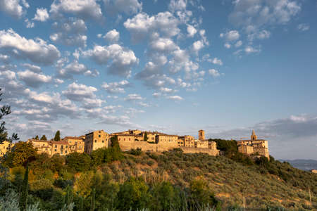 Bettona is an ancient town and comune of Italy, in the province of Perugia in central Umbria 免版税图像