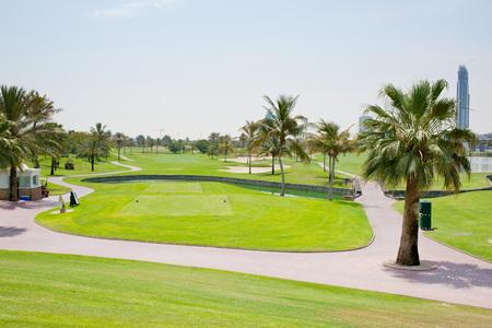 golf course Banco de Imagens - 106096364