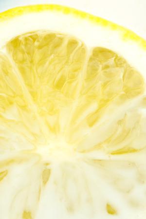 pith: lemon in milk