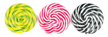 Multicolor lollipop party photo